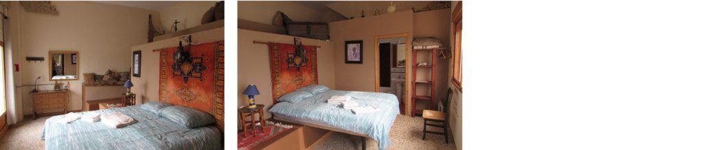 Deze kamer heeft Moorse Invloeden, B&B Villa Pico, Sella, Costa Blanca. Walking , Hiking ,Climbing  Costa Blanca. Accomodation for Climbers