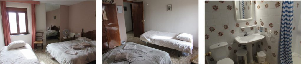 Kamers 2 heeft 2 bedden, Bed and Breakfast Villa pico, Sella, Costa Blanca