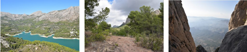 Guadalest, Crystal valley, Puig Campana. These walks are all Close to Villa Pico, Sella. Walking , Hiking ,Climbing  Costa Blanca. Accomodation for Climbers
