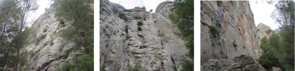 Rock climbing area near Sella, Alicante, Costa Blanca. Close to Bed & Breakfast Villa Pico. Walking , Hiking ,Climbing  Costa Blanca. Accomodation for Climbers
